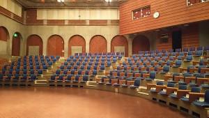 藤沢市労働会館ホール客席